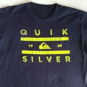 Quik Silver t-shirt Large